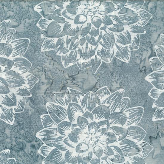 Hoffman Batik - R2270 55 Charcoal Bare Essentials