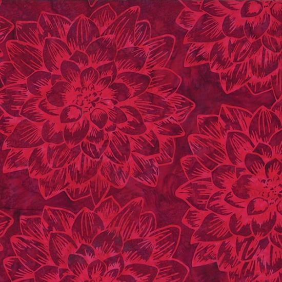 Hoffman Batik - R2270 568 Red Velvet Global Spice