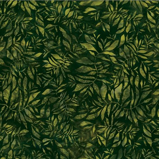 Hoffman Batik - R2272 69 Jungle All Over Leaf