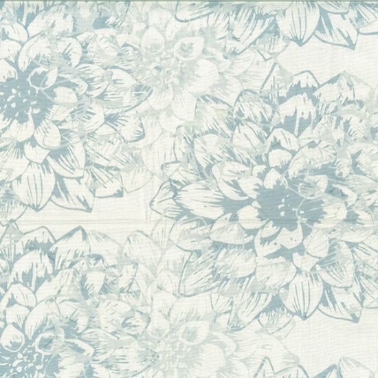 Hoffman Batik - R2273 190 Ice Blue Dream Big Simply Organic