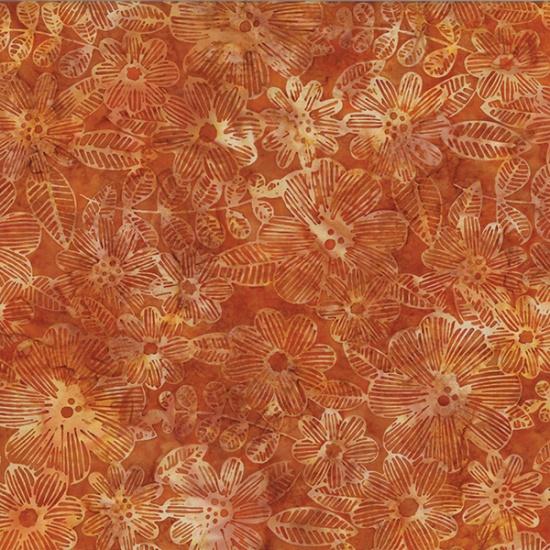 Hoffman Bali Batik R2274-572-Bourbon Global Spice