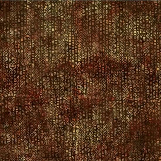 Hoffman Batik - R2277 573 Pecan Global Spice