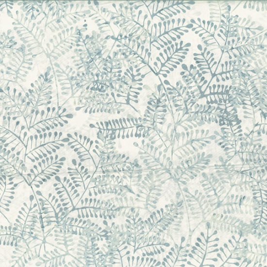 Hoffman Batik - R2280 190- Ice Blue Bare Essentials