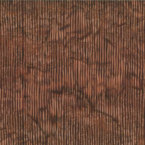 Hoffman Bali Batik R2284-108-Chocolate Stripe
