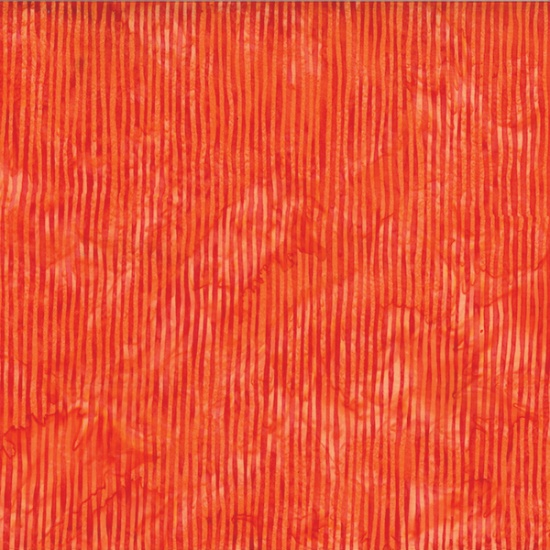 Hoffman Batik R2284-152 Tangerine