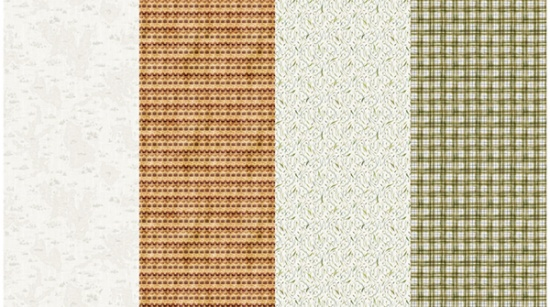 Fly Home - 2-yd Panel<br>R4649-511 Texture/Plaid - Bluff