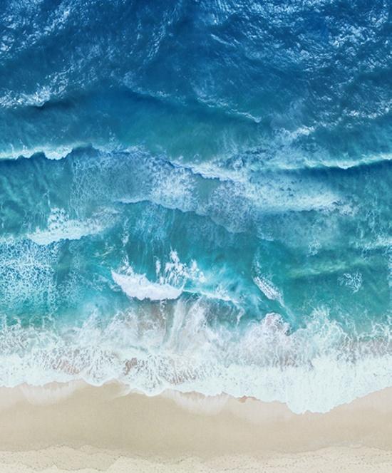 Nature's Narratives Coastal Calm - Ocean