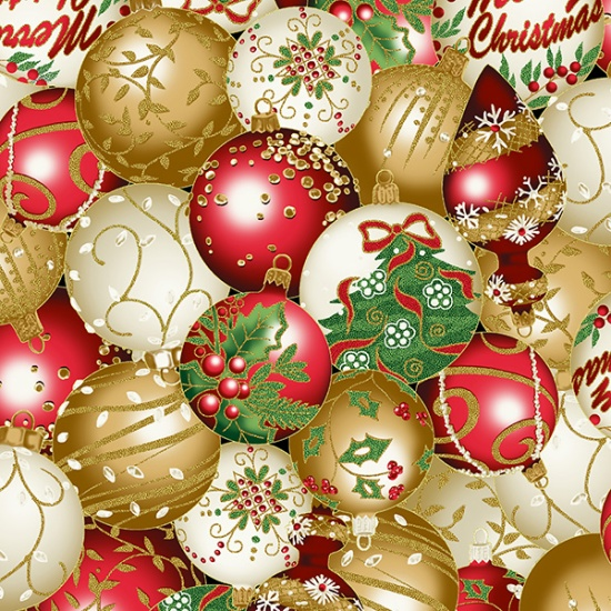 Gold All That Glitters Ornaments