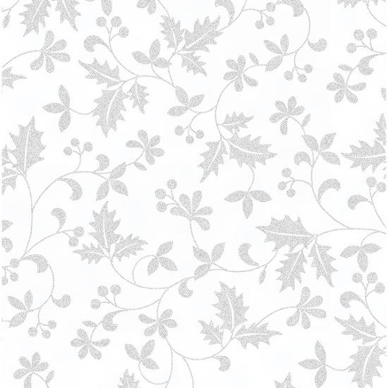 Hoffman Ice-Silver Poised Poinsettia R7671 - 176S