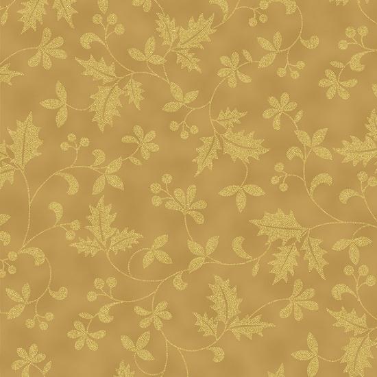 Poised Poinsettia Gold Blender