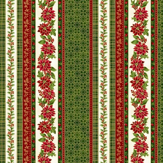 Poised Poinsettia-Hunter-Gold R7672-60G