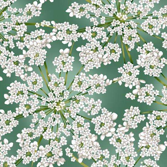 Winter Bloom Eucalyptus/Silver R7676-436S