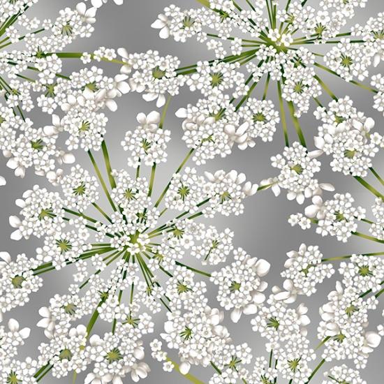 Winter Bloom Gray/Silver R7676-48S