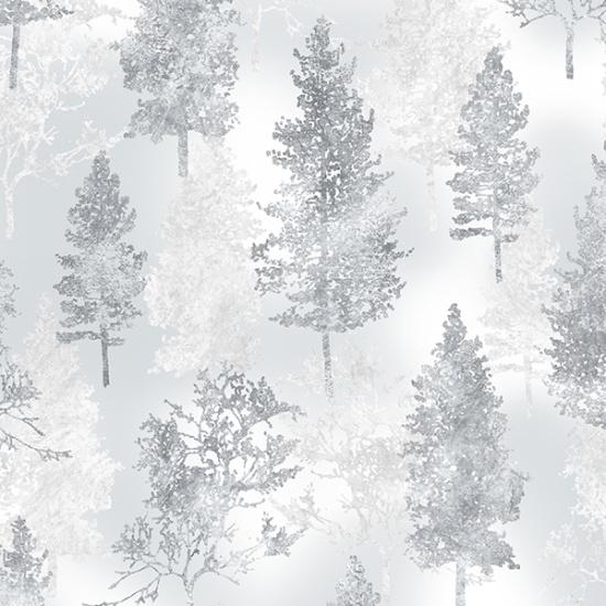 Hoffman Frost-Silver A Winters Sky R7686 - 113S