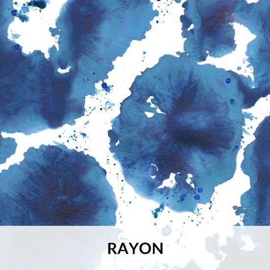 Inspired Indigo Rayon Batik