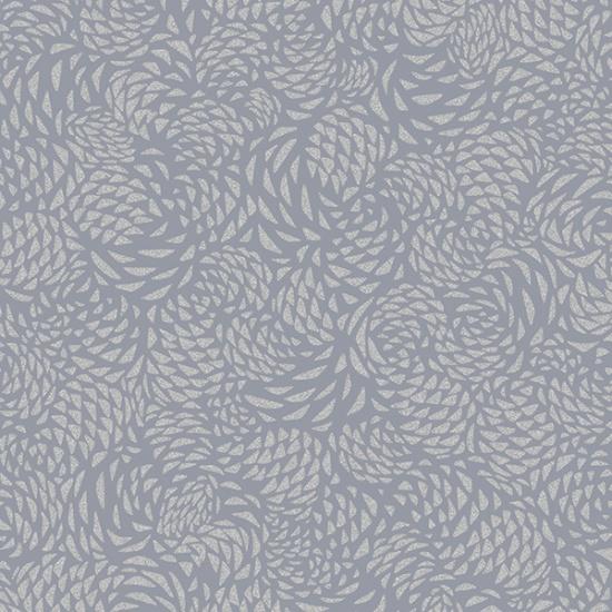 Pewter-Silver Sparkle+Fade - Pinecones