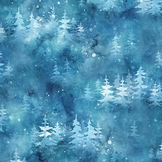 S4745-230-Sapphire Woodland Winter