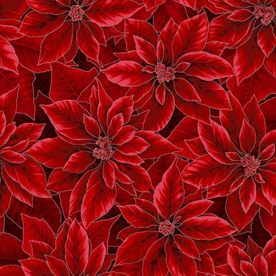 Holiday Decadence - Crimson/Silver S7702-10S
