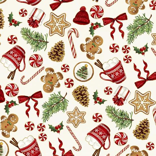 Santa`s Sweets Natural/Gold S7719-20G