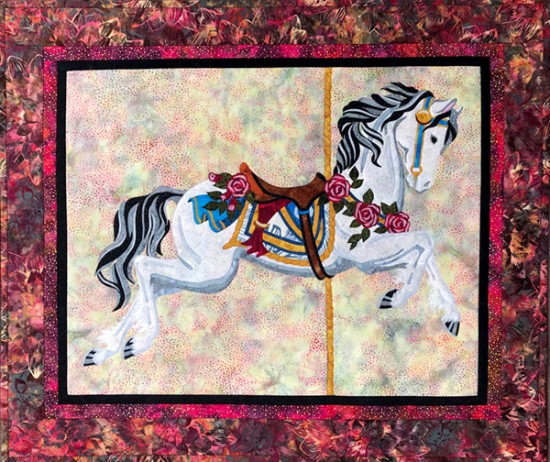 Carousel Horse Wall Hanging - TWCH-634