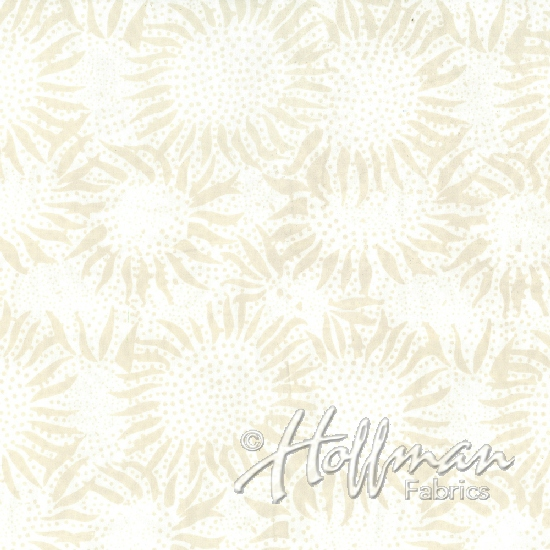 Sunflowers - Oyster (108 Wide Back)