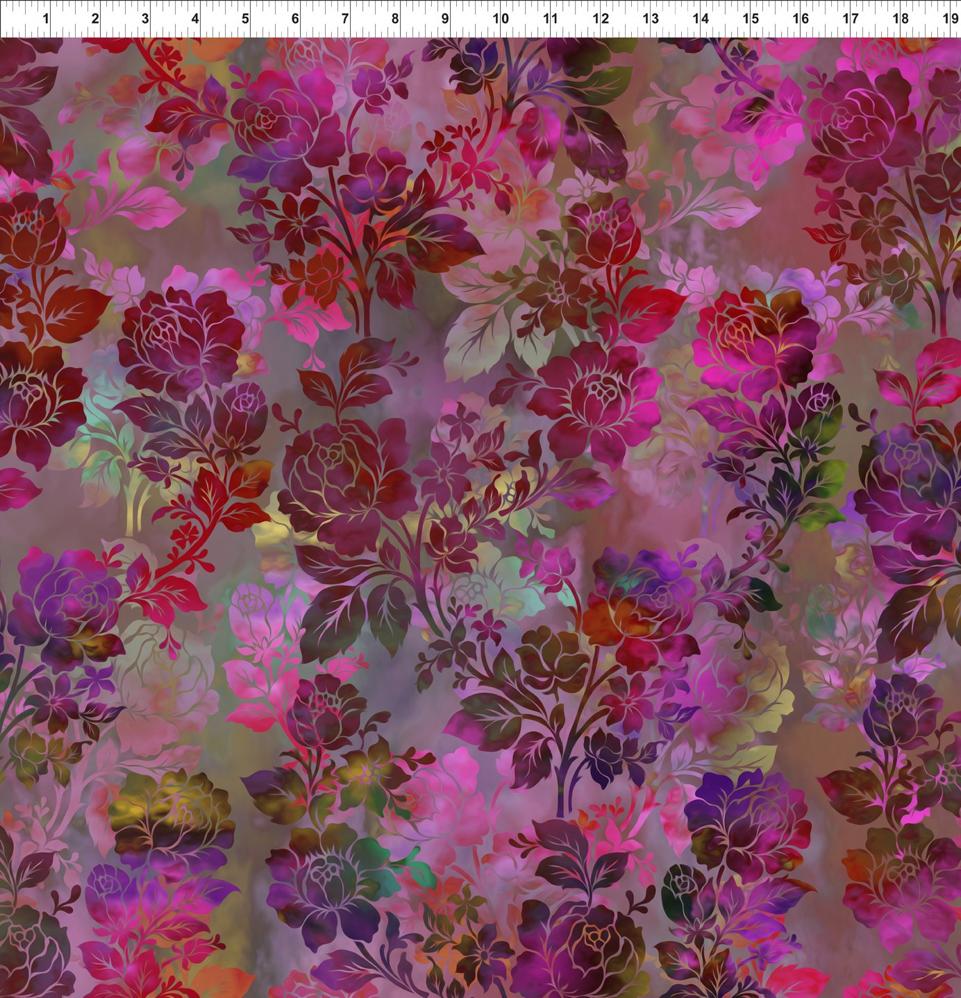 Diaphanous Night Bloom - Magenta