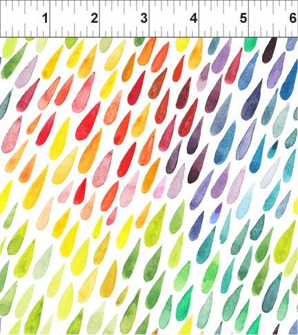 Floral Menagerie Raindrops