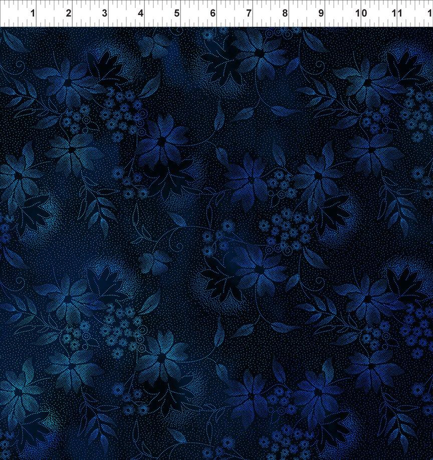 Seasons - Night Flowers in Blue - 2SEA 2