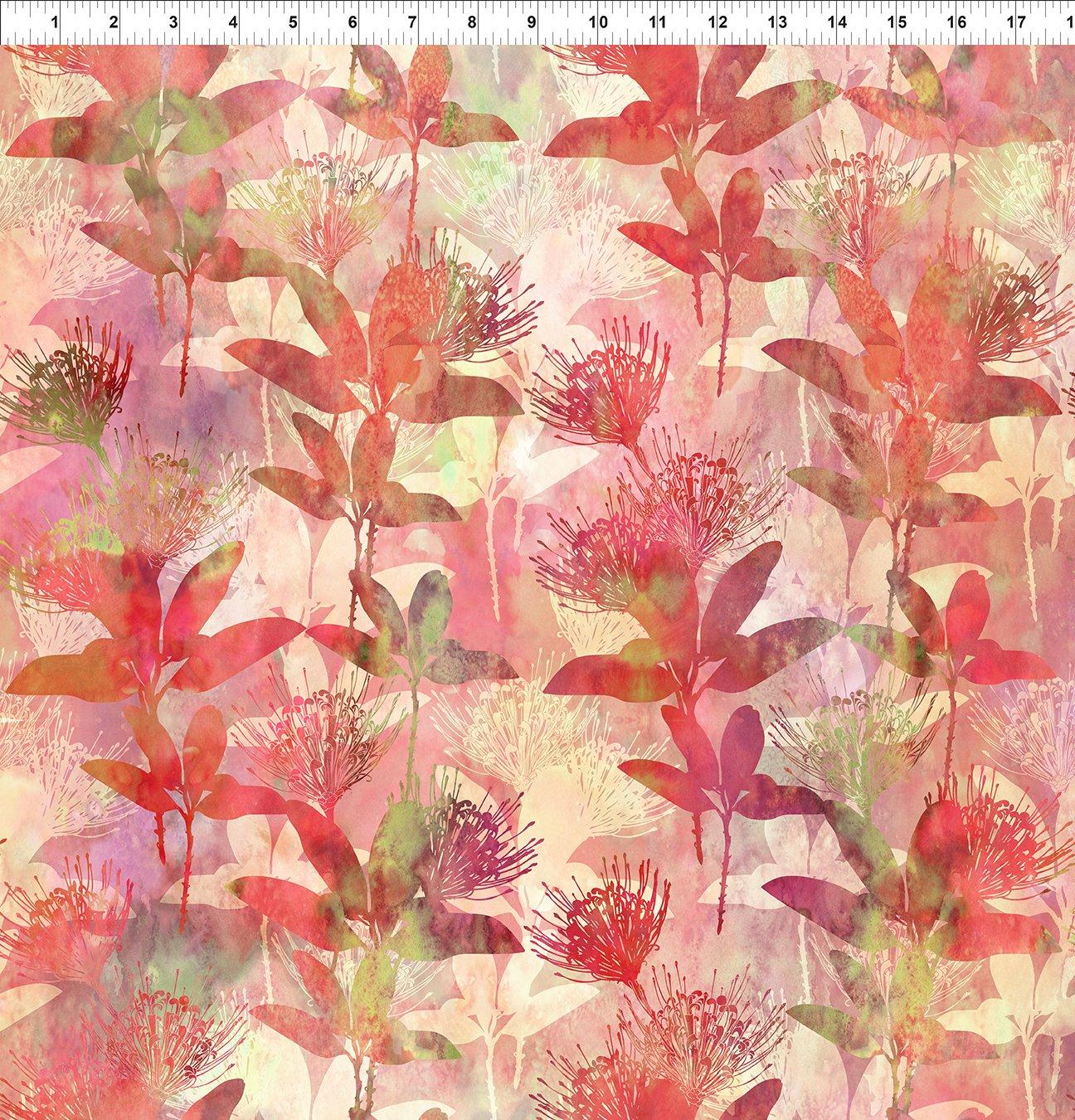 Australian Beauties Floral Coral 3AUB 1