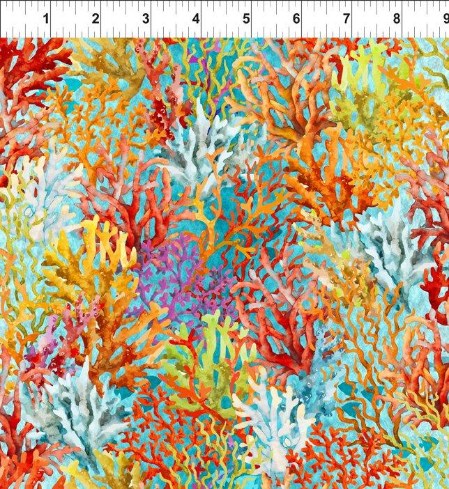 Calypso 3CAL2 Teal Coral