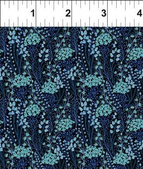 Garden Delights III Prairie Flowers Blue 5GSG 3
