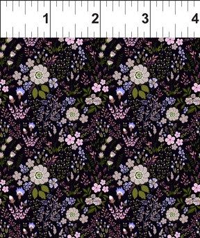 Garden Delights III Floral Medley Purple 6GSG 3