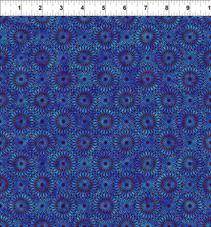 Cosmos Burst - Blue