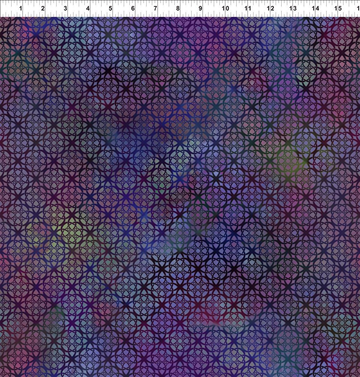 In The Beginning - Diaphanous-Trellis/Mulberry - 7ENC4