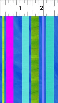 Happy Birthday Blue Ribbon Stripes 7JHO1