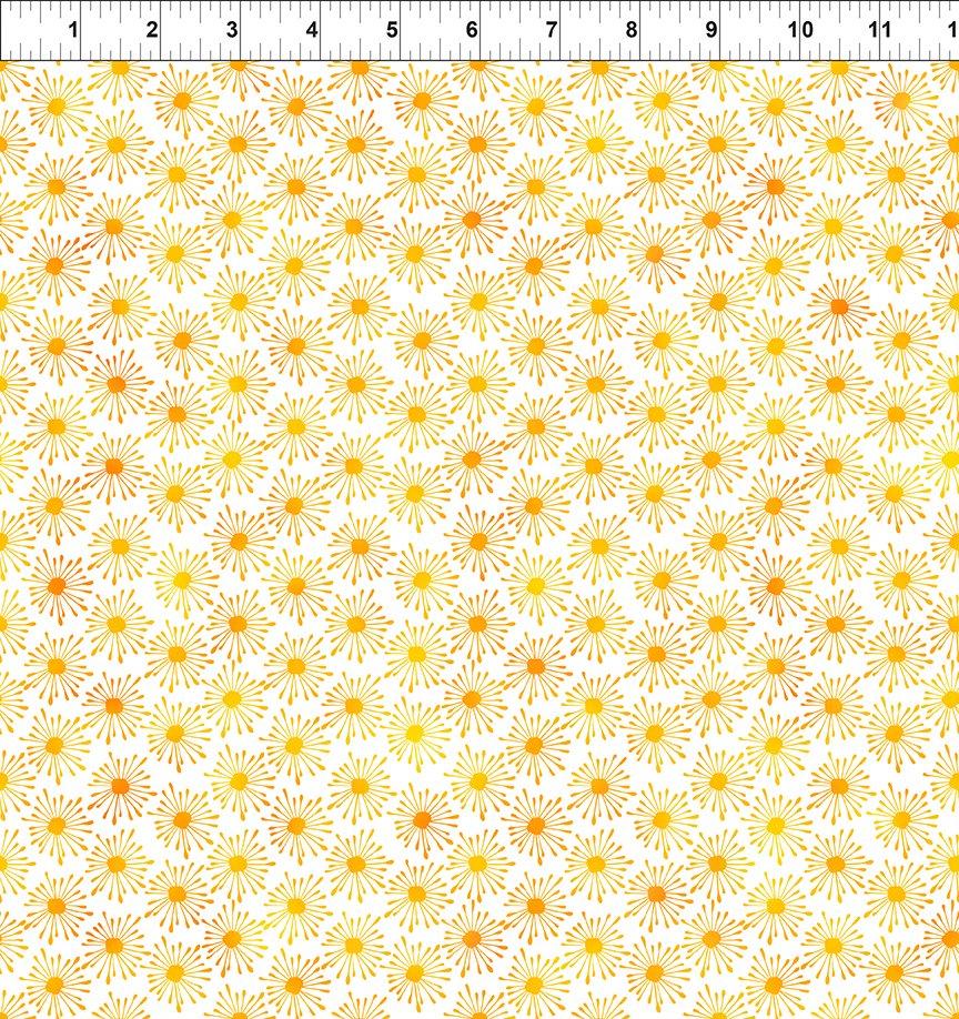 Unusual Garden II Yellow/White 7UGB 2