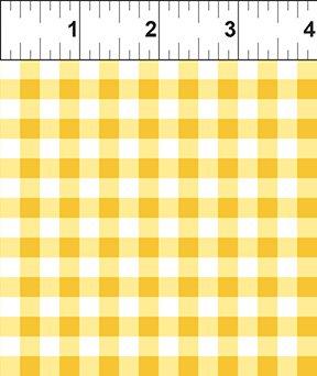 Cherry Lemonade: Plaid - Yellow