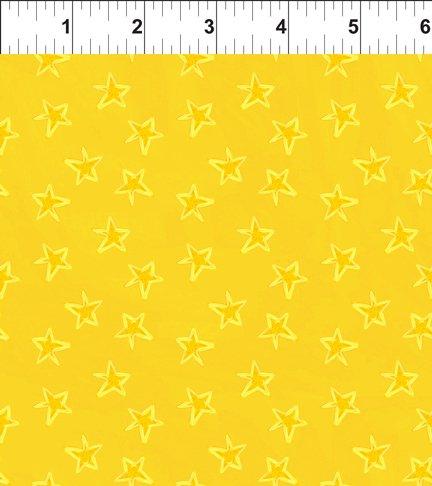 Happy Birthday Yellow Stars 8JHO2