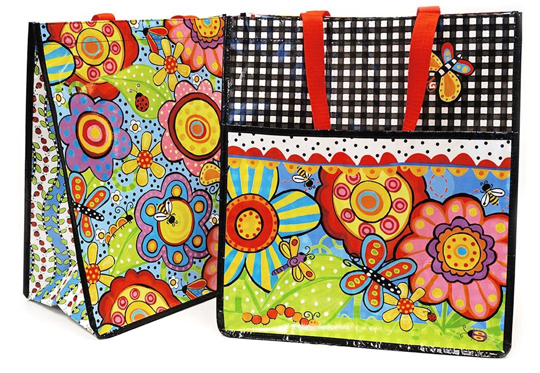 Bugapalooza Shopping Tote by Jennifer Heynen