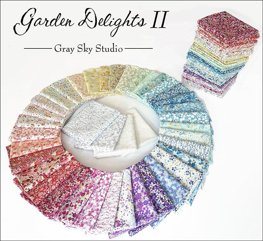 Garden Delights II Fat Quarter Pack