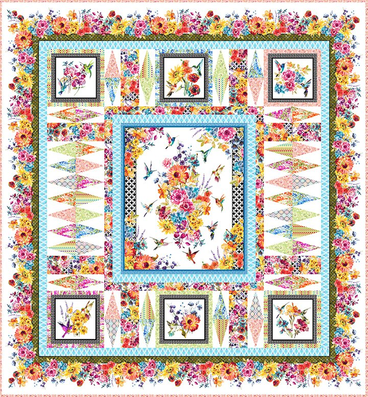*Hummingbird Lane Quilt Pattern