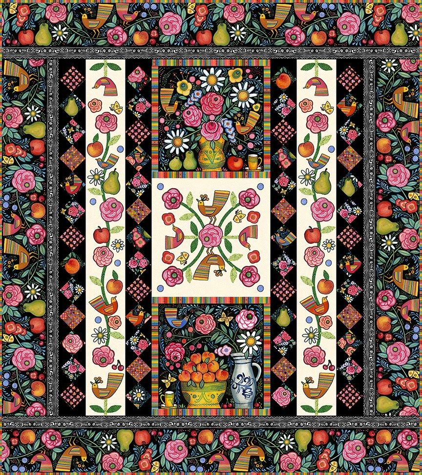 Plenty Broderie Perse Quilt Pattern