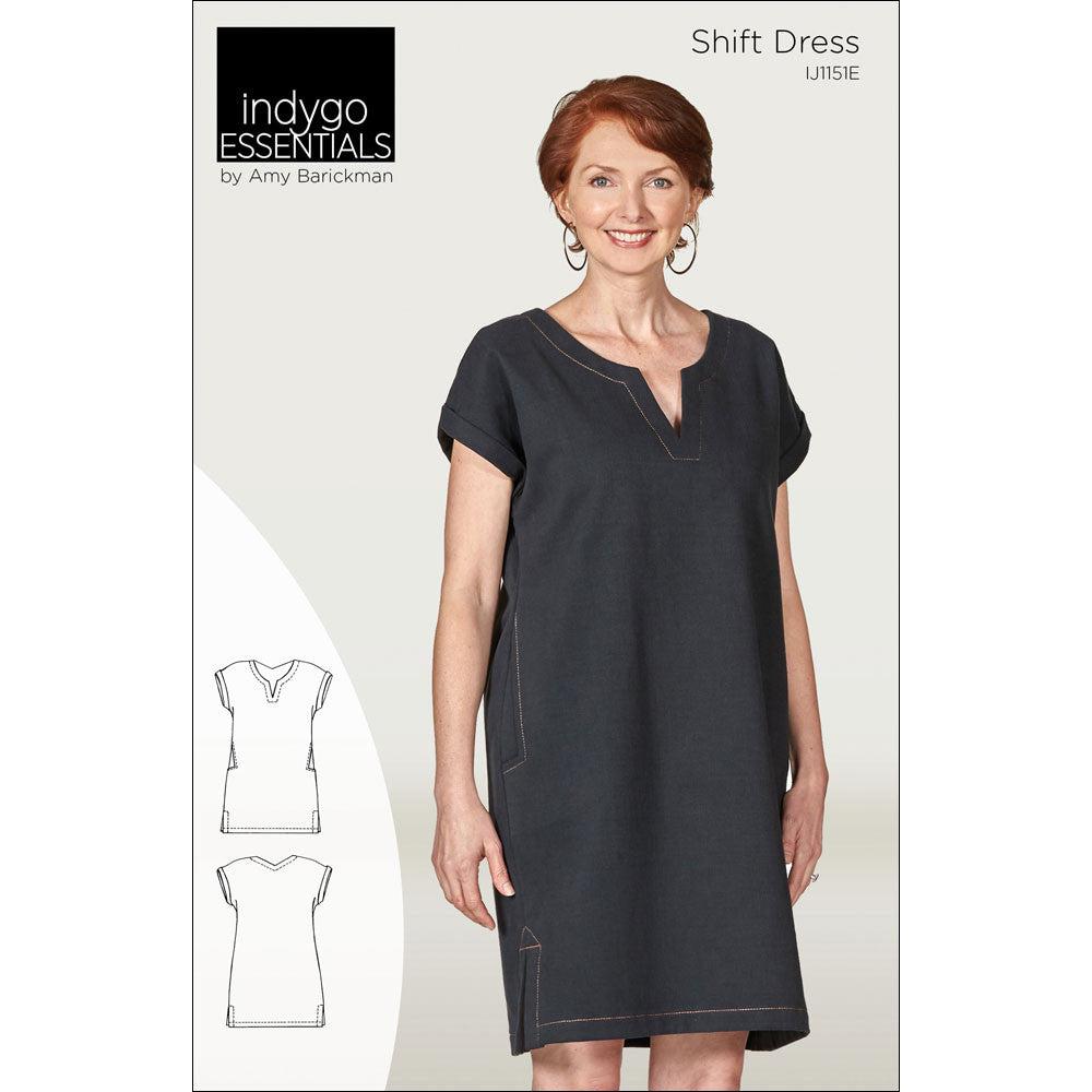Indygo Essentials - Shift Dress Pattern