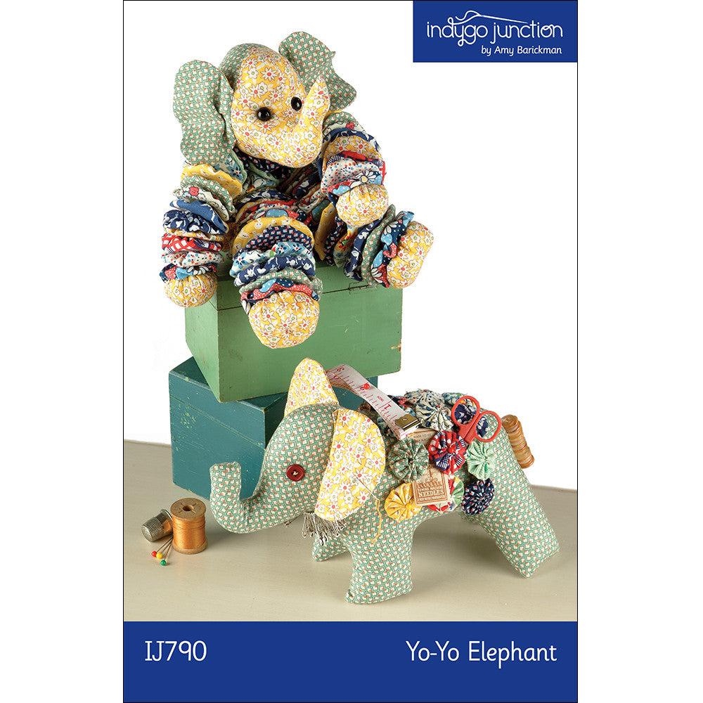 Yo-Yo Stuffed Elephant