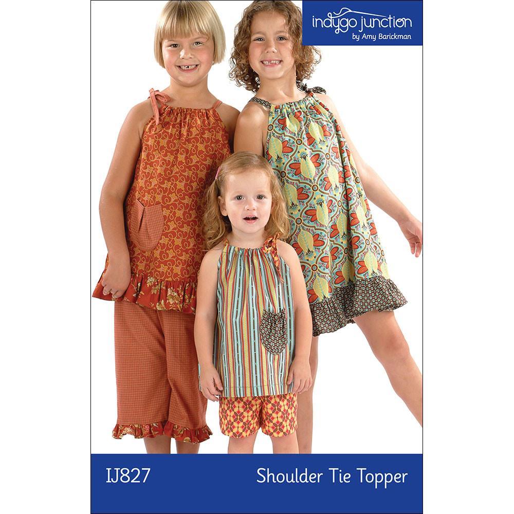 Shoulder Tie Topper Pattern
