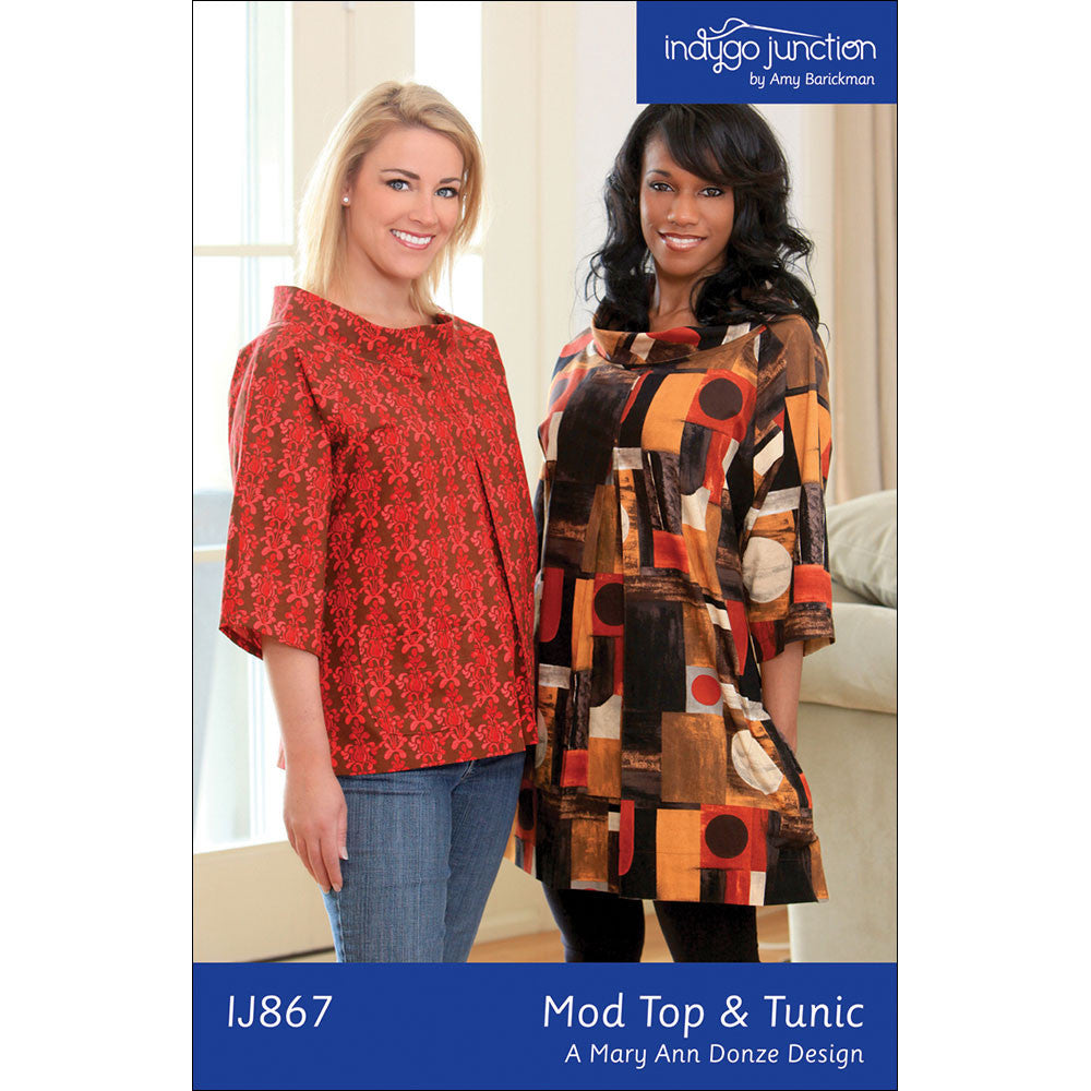 Mod Top & Tunic Pattern by Indygo Junction