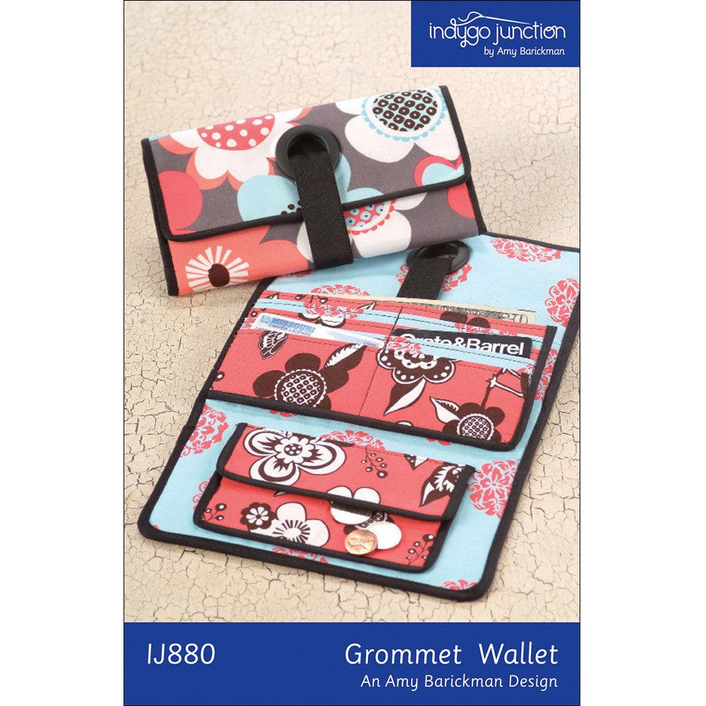 Grommet Wallet Digital Sewing Pattern