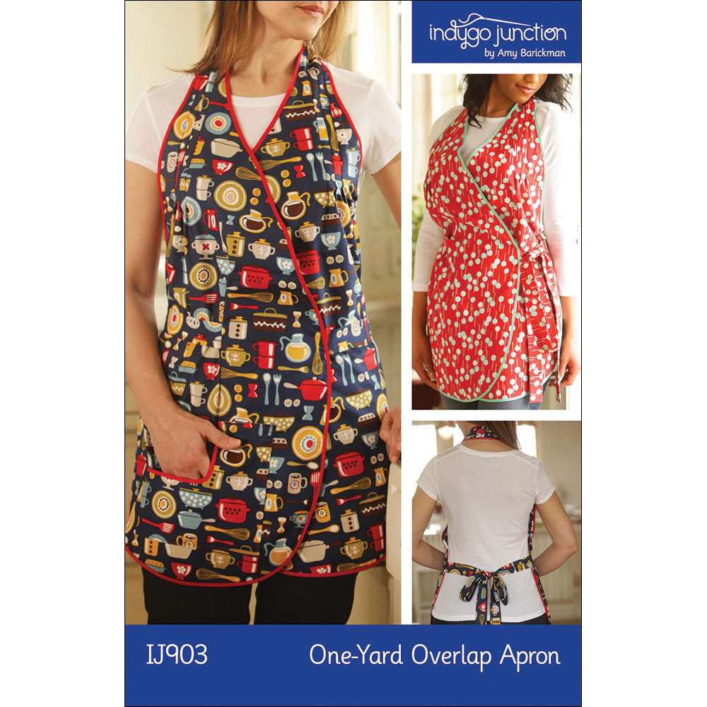 One-Yard Overlap Apron Pattern