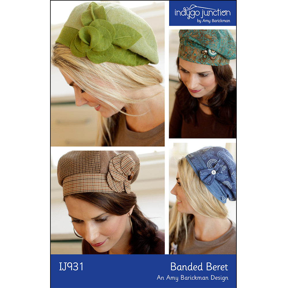 Banded Beret Pattern by Indygo Junction