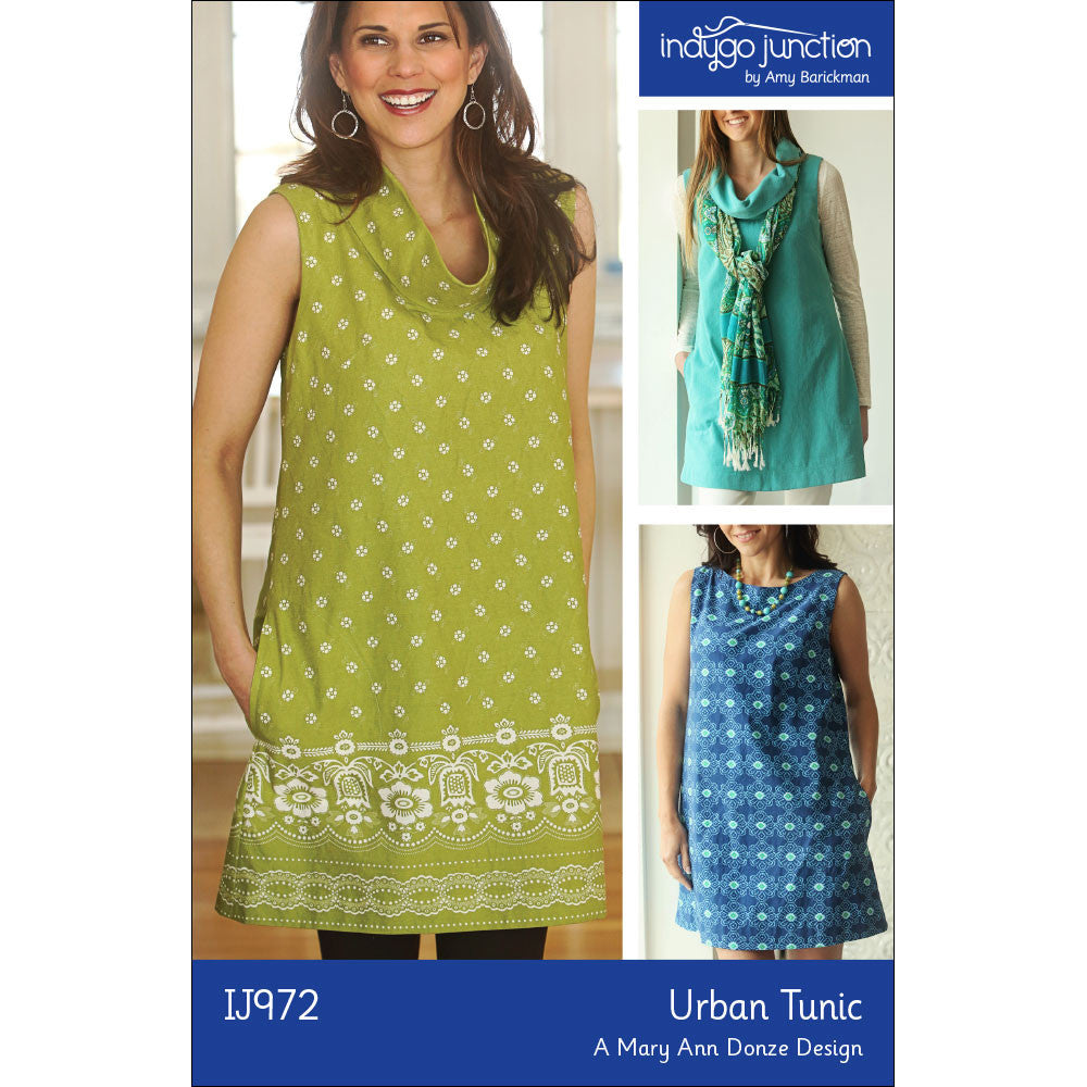 Urban Tunic Pattern by Indygo Junction